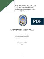 Lubricacion Industrial-monografia Unac