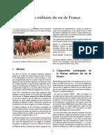 UNIF - Maison Militaire Du Roi de France
