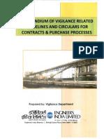 Compendium of Vigilance Guidelines