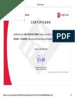 Web Designer Bradesco Certificado