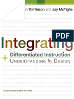 Connecting Content And Kids Carol Ann Tomlinson Jay Mctighe Integrating Differentiated Instruction Understanding By Design Ascd 2006 Pdf Differentiated Instruction Curriculum