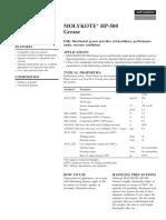 Molykote HP 500