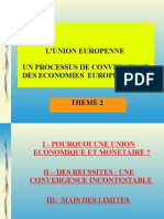 Thème 2 politique economique uem et convergence