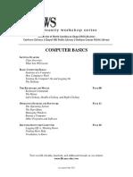 Fundamentals of Cpmputing