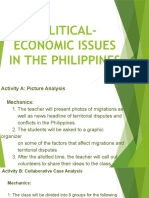 political-economic issues in the philippines