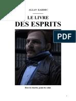 Allan Kardec 01 Le Livre Des Esprits 1857 Jys