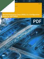 Hana Sps11 Red Hat Enterprise Linux RHEL 6 x Configuration Guide for SAP HANA En