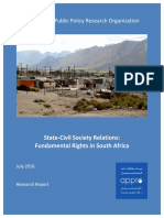 2016 07 13 - Conflict and Fundamental Rights in South Africa
