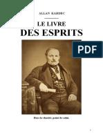 Kardec Allan Le Livre Des Esprits 1857 Jys - Copie