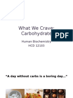 Chapter 5 - Carbohydrates