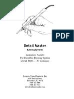 Detail Master Manual Excalibre