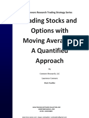 Laurence Connors - Trading Stocks and Options With MA | Put Option