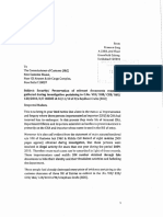 Meeta- Commissioner - Preservation of Documents
