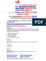 [CompTIA Official]2016.Jul. New 220-901 PDF Dumps 1346q Offer 31-40