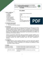 IS506 Ecuaciones Diferenciales Lic. Marco a. Ramos Alva