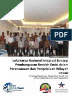 Laporan Kegiatan dan Prosiding Lokakarya Nasional Integrasi Strategi Pembangunan Rendah Emisi dalam Perencanaan dan Pengelolaan Wilayah Pesisir