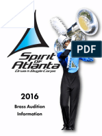 2016 Spirit of Atlanta BRASS Audition Packet (1)