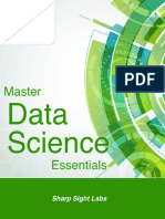 Master Data Science Essentials 2015-11 SHARPSIGHTLABS