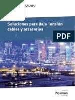 201607 Prysmian Catálogo Soluciones Para Baja Tensión Cables y Accesorios 2016