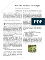 Innovation of New Fibre-Girardinia Heterophylla