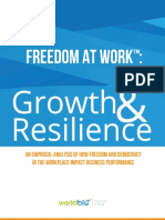 WorldBlu Freedom at Work Growth Resilience
