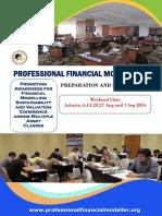 Program Profile PFM Weekend Class 2016