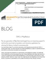 DAG vs MapReduce
