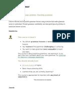 Teaching Grammar_Cambridge Course