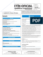 Boletín Oficial de la República Argentina, Número 33.419. 15 de julio de 2016