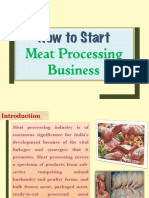 How to Start Meat Processing Business
