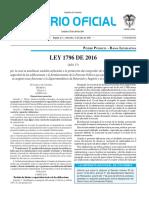 Diario oficial de Colombia n° 49.933. 13 de julio de 2016