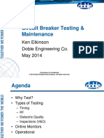 Circuit Breaker Testing Maintenance Doble