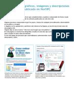 Infografías Con Gráficos, Imágenes y Descripciones de Norfipc
