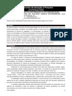 TECNOLOGIAS DIGITAIS DA INFORMAÇÃO E DA COMUNICAÇÃO APLICADAS AO ENSINO DE ITALIANO LÍNGUA ESTRANGEIRA