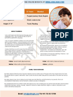 sample format for marriage biodata