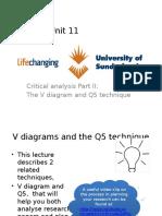 Unit 11 the v Diagram