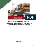 2014 Manual Implementacao Dinamicas Praticas Autodesenvolvimento SENAI