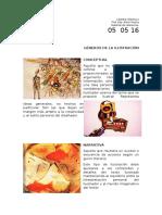Géneros de La Ilustración/ Material de referencia