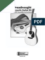 Stewart Mcdonald Plans Guitars