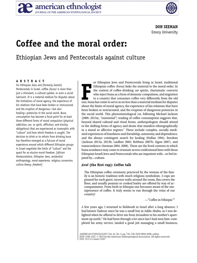 C_offee_and_the_Moral_Order_SEEMAN-2015-American_Ethnologist pdf