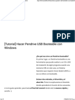 [Tutorial] Hacer Pendrive USB Booteable Con Windows