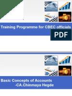 Training Programme for CBEC Officials