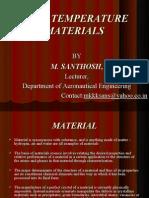 High Temperature Materials