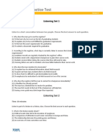 TOEFL 1 - Cartilla de Preguntas