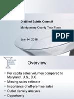 Distilled Spirits Council - Task Force Presentation