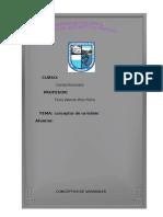 Conceptos de Variables de Las Cuentas Nacionales