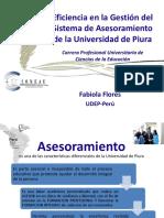 Fabiola Flores - Eficiencia en La Gestión Del Sistema de Ase