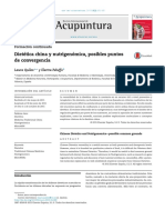 Dietética China y Nutrigenómica