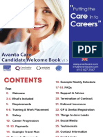 Candidate Welcome Book_Avanta ENGLISH