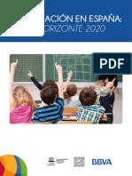 Educacion Espana 2020 Investigacion Completa